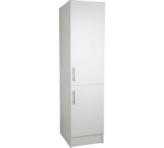 Buy hygena athina 500mm tall fitted kitchen unit white for Kitchen boiler housing unit