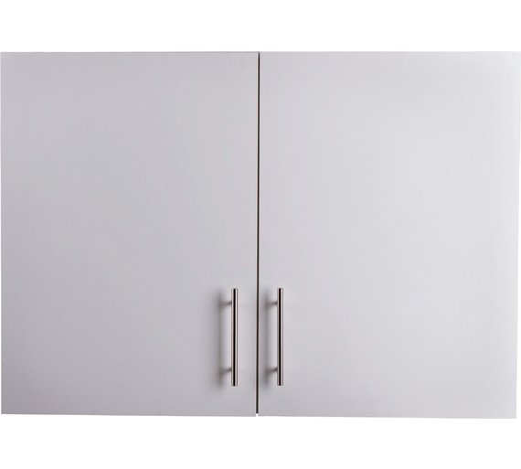Buy Athina Mm Fitted Kitchen Wall Unit White Kitchen Wall - Grey kitchen wall units