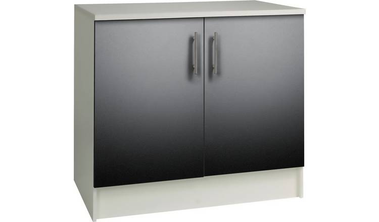 Argos Home Athina 1000mm Fitted Kitchen Base Unit - Black
