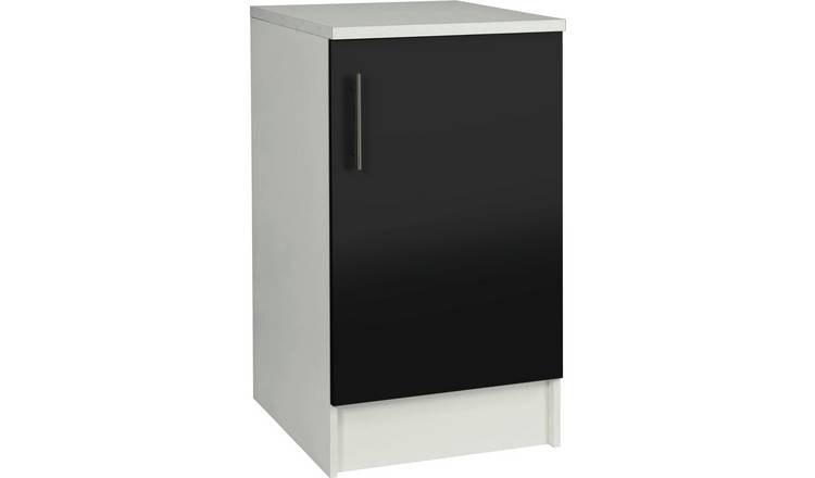 Argos Home Athina 500mm Fitted Kitchen Base Unit - Black