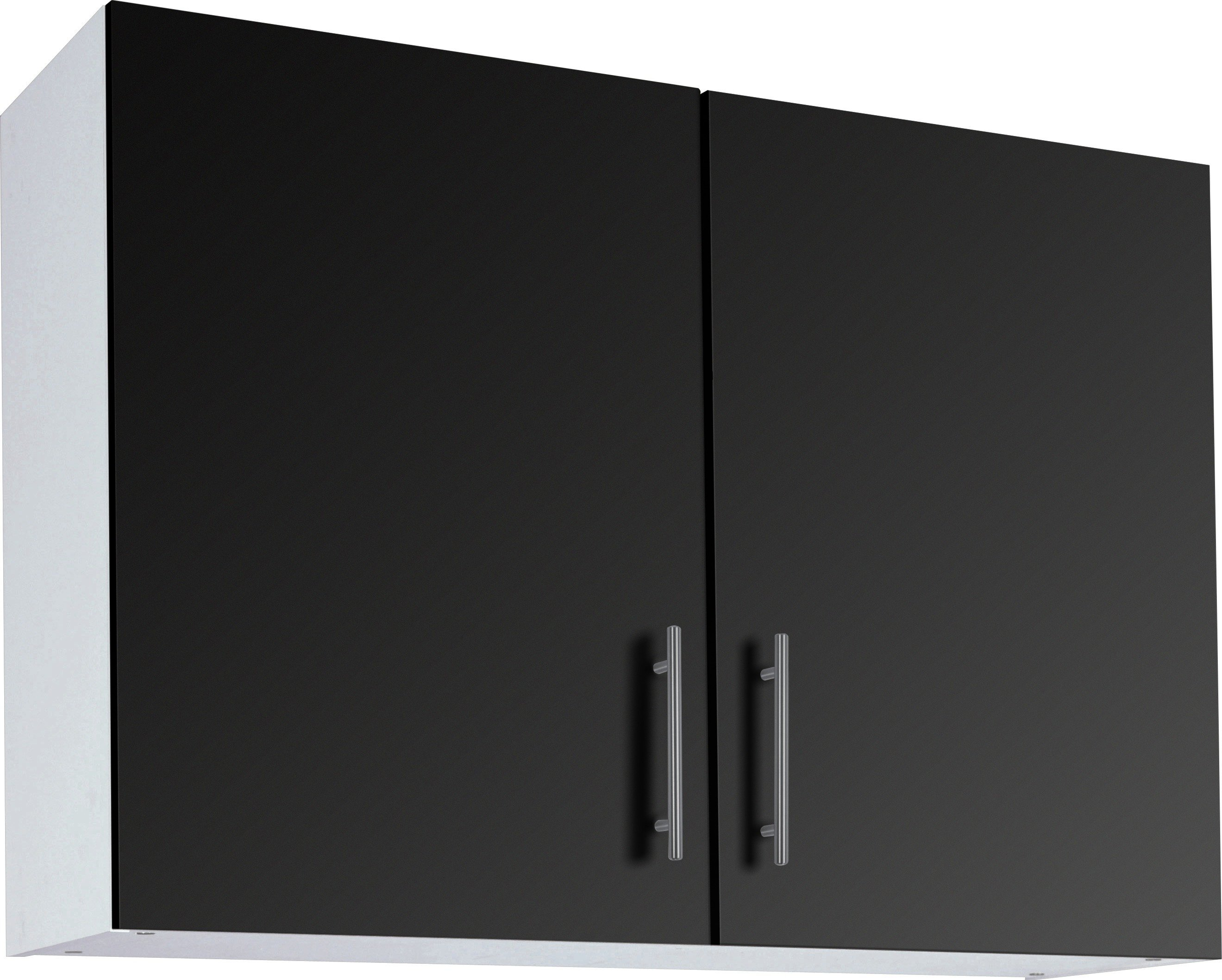 Image of Athina - 1000mm - Fitted - Kitchen Wall Unit - Black
