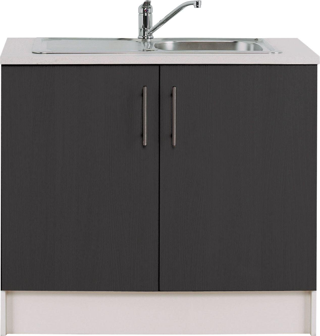 buy athina 1000mm stainless steel kitchen sink unit