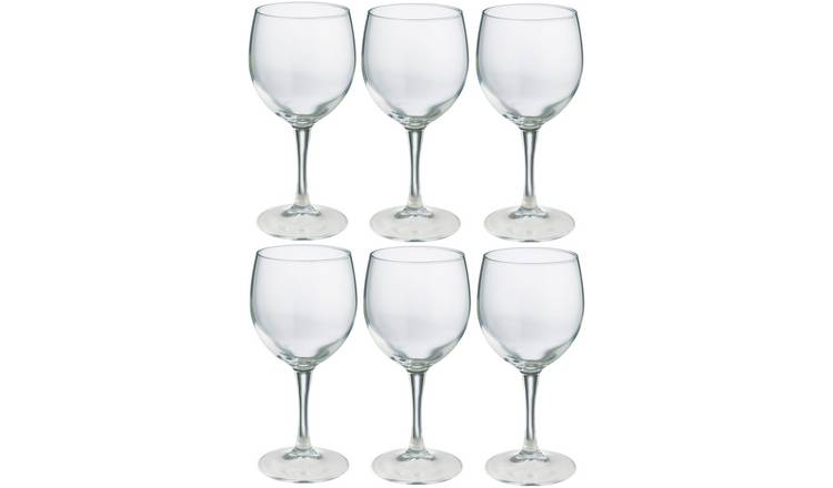 Habitat Joy Set of 6 Red Wine Glasses