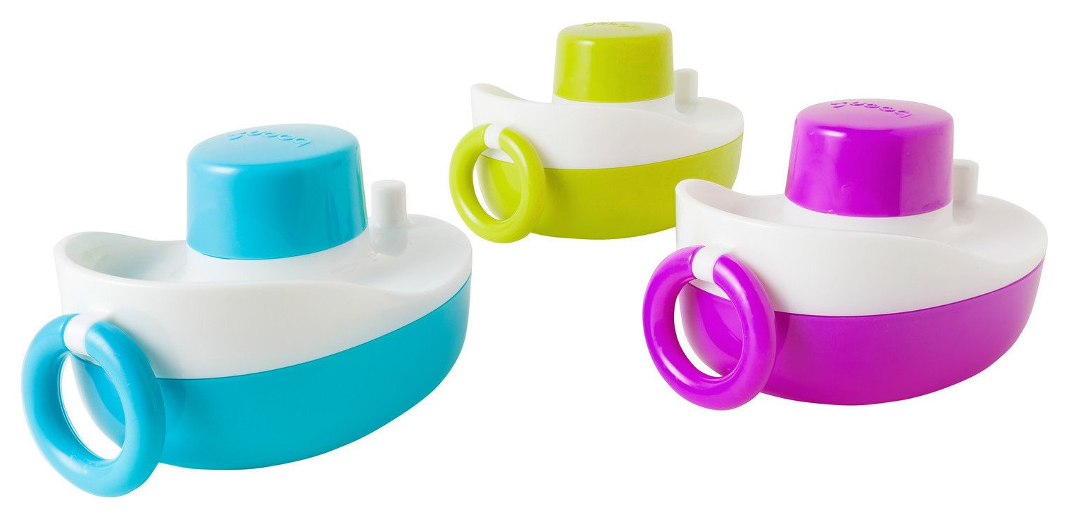 Image of Tomy - Boon Tones Musical Boats Bath Toy