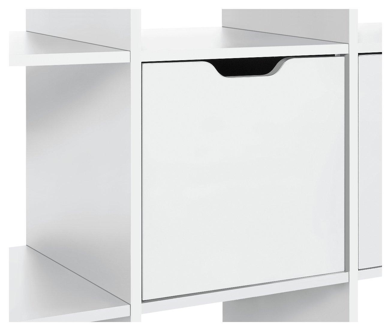 Hygena Squares Plus Door Fitting - White