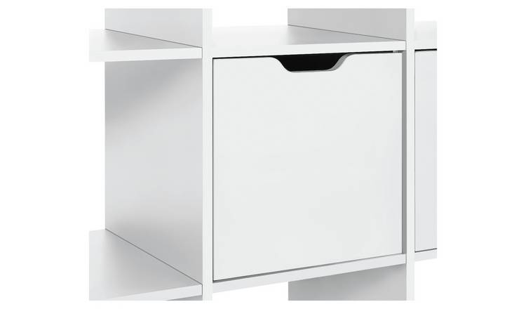 Argos Home Squares Plus Door Fitting - White