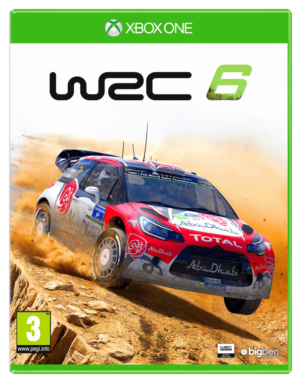 Image of WRC 6 - Xbox - One Game.