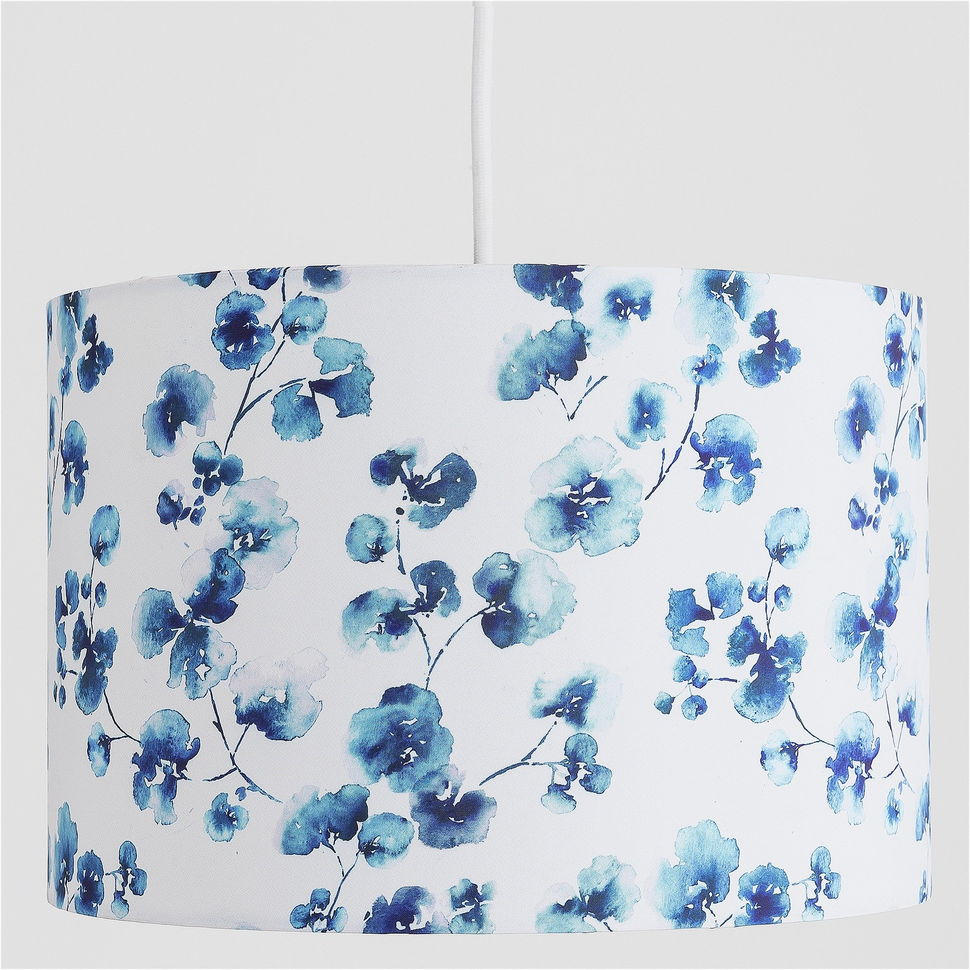 Heart of House Honesty Floral Shade - Blue.