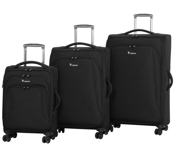 Buy IT Luggage Megalite Semi-Expandable 8 Wheel Suitcase - Large ...