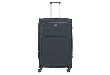 Antler Savanna 4 Wheel Base Large Suitcase - Black