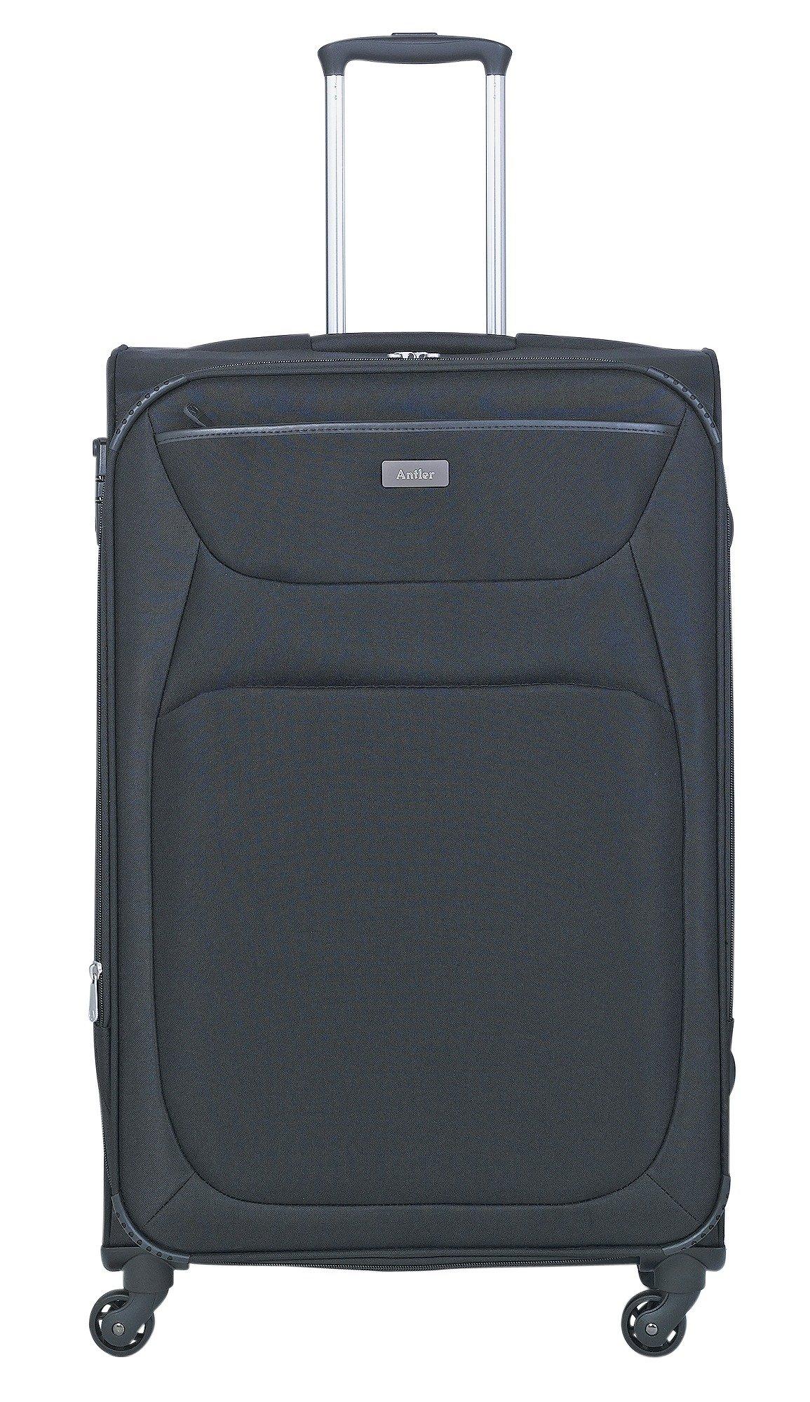 Buy Antler Savanna 4 Wheel Base Large Suitcase - Black at Argos.co ...