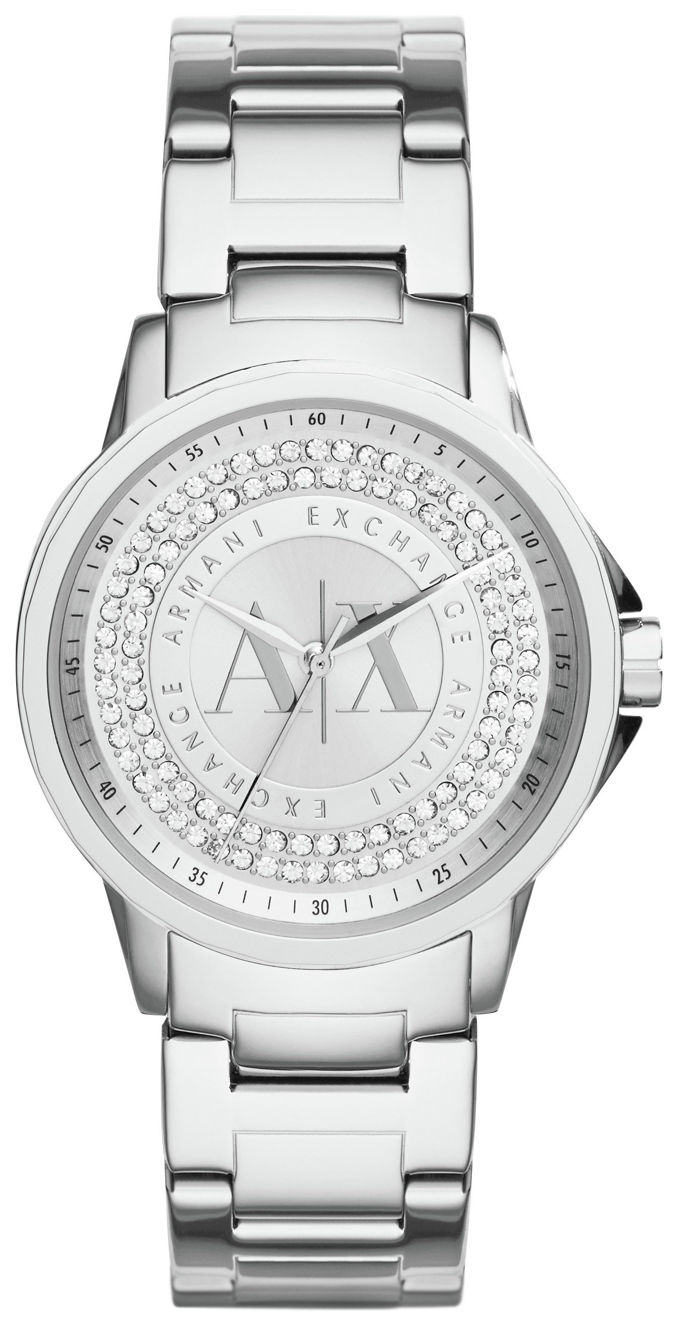 Image of Armani Exchange - Ladies AX4320 Stainless Steel Bracelet - Watch