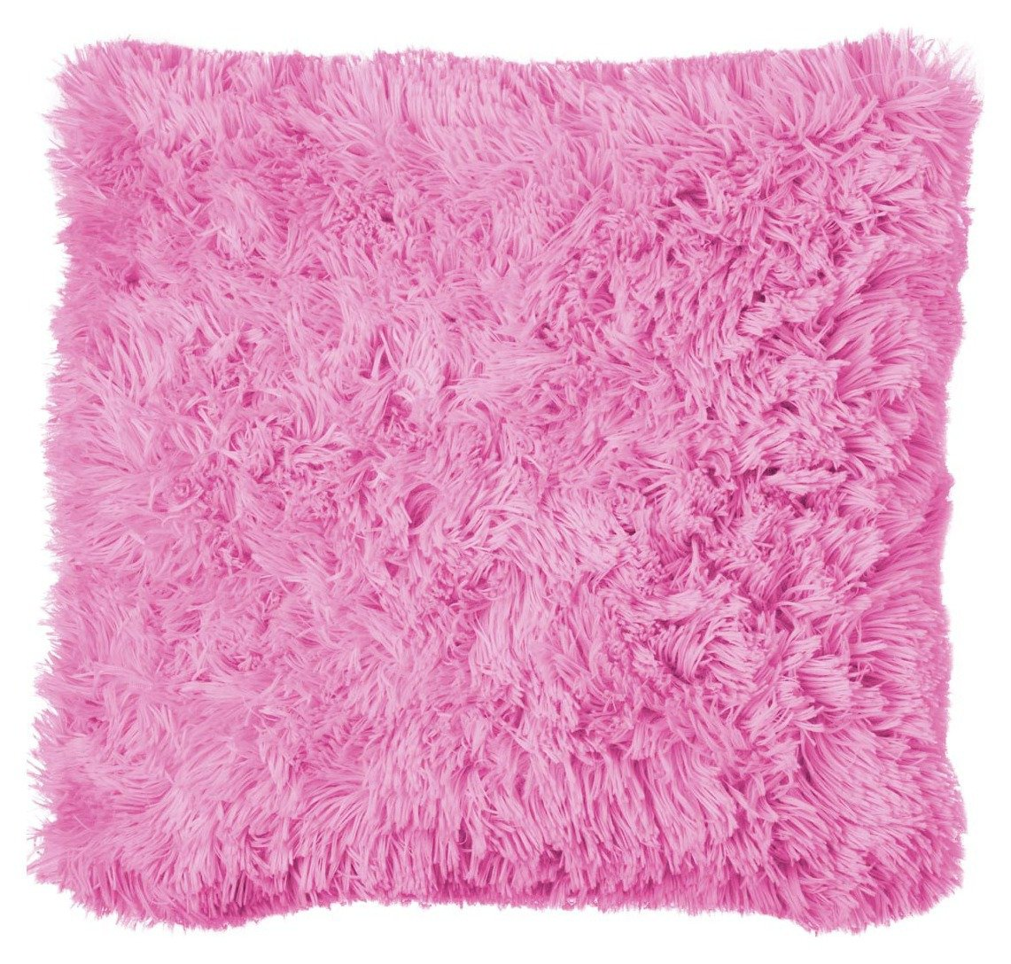 Catherine Lansfield Cuddly Cushion - Pink