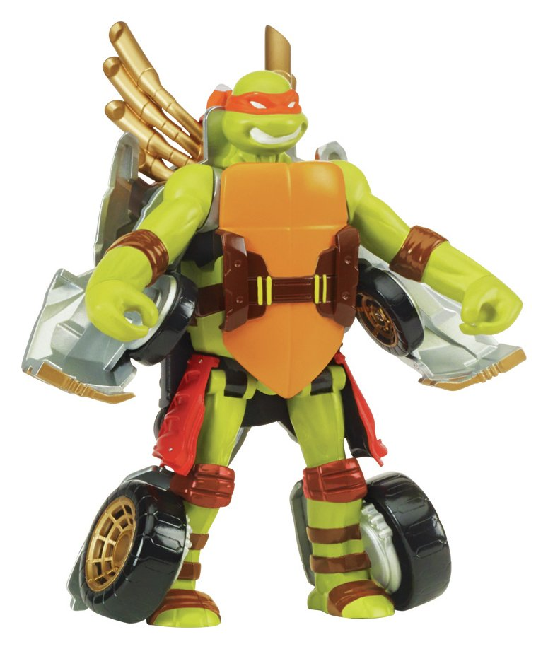 TMNT Mutations Turtle to Weapon - Mike.