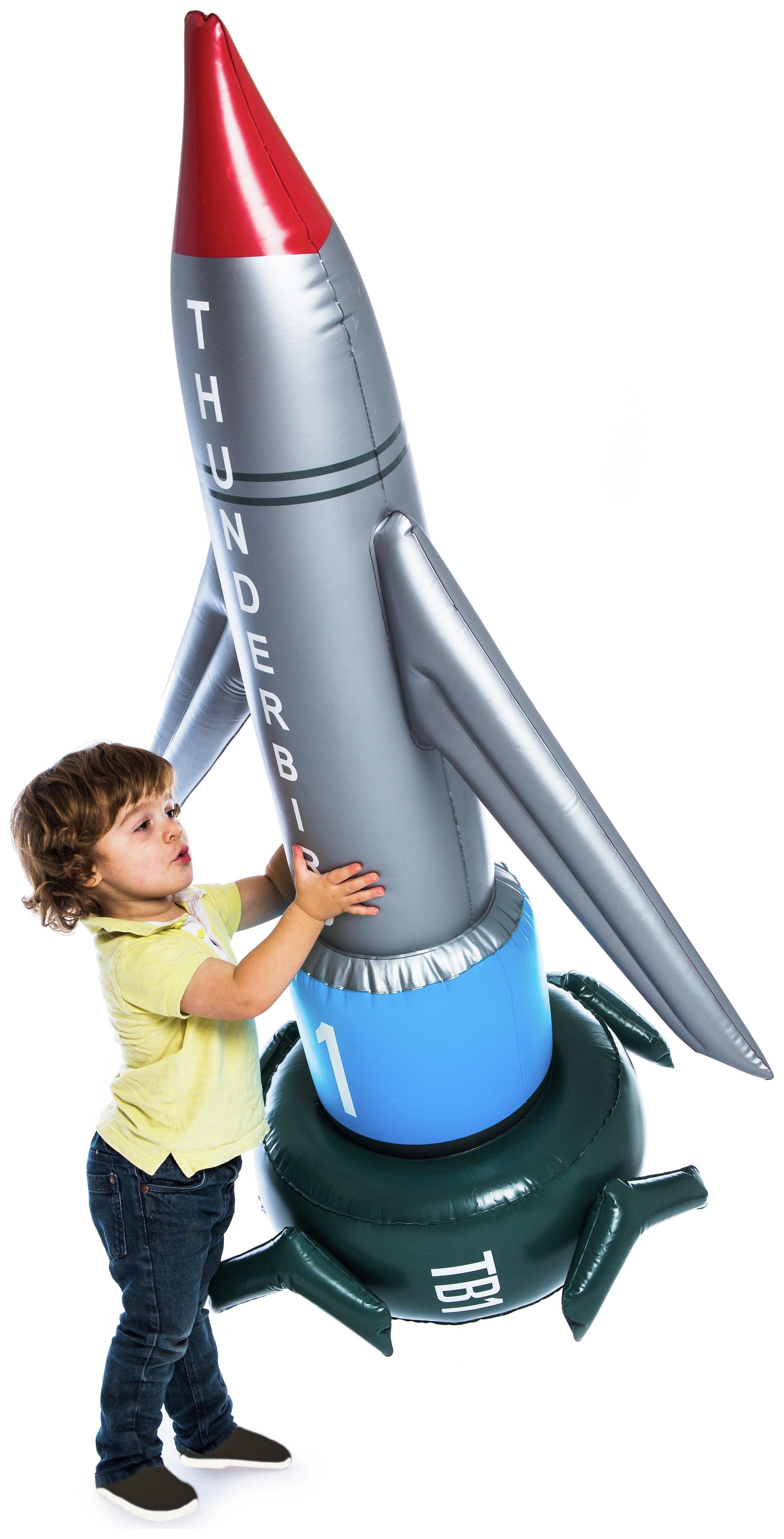 Thunderbird 1 Inflatable Rocket.