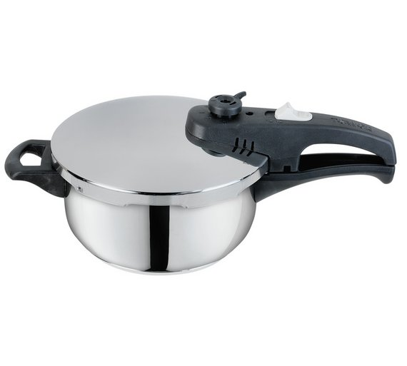 c8dddca29 Tower 3 Litre Stainless Steel Pressure Cooker Easy Clean Cooking Pot Means  Lees