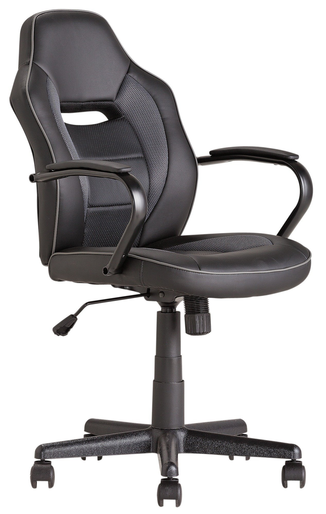 comfortable office chairs for gaming. mid back office gaming chair - black608/8734 comfortable chairs for