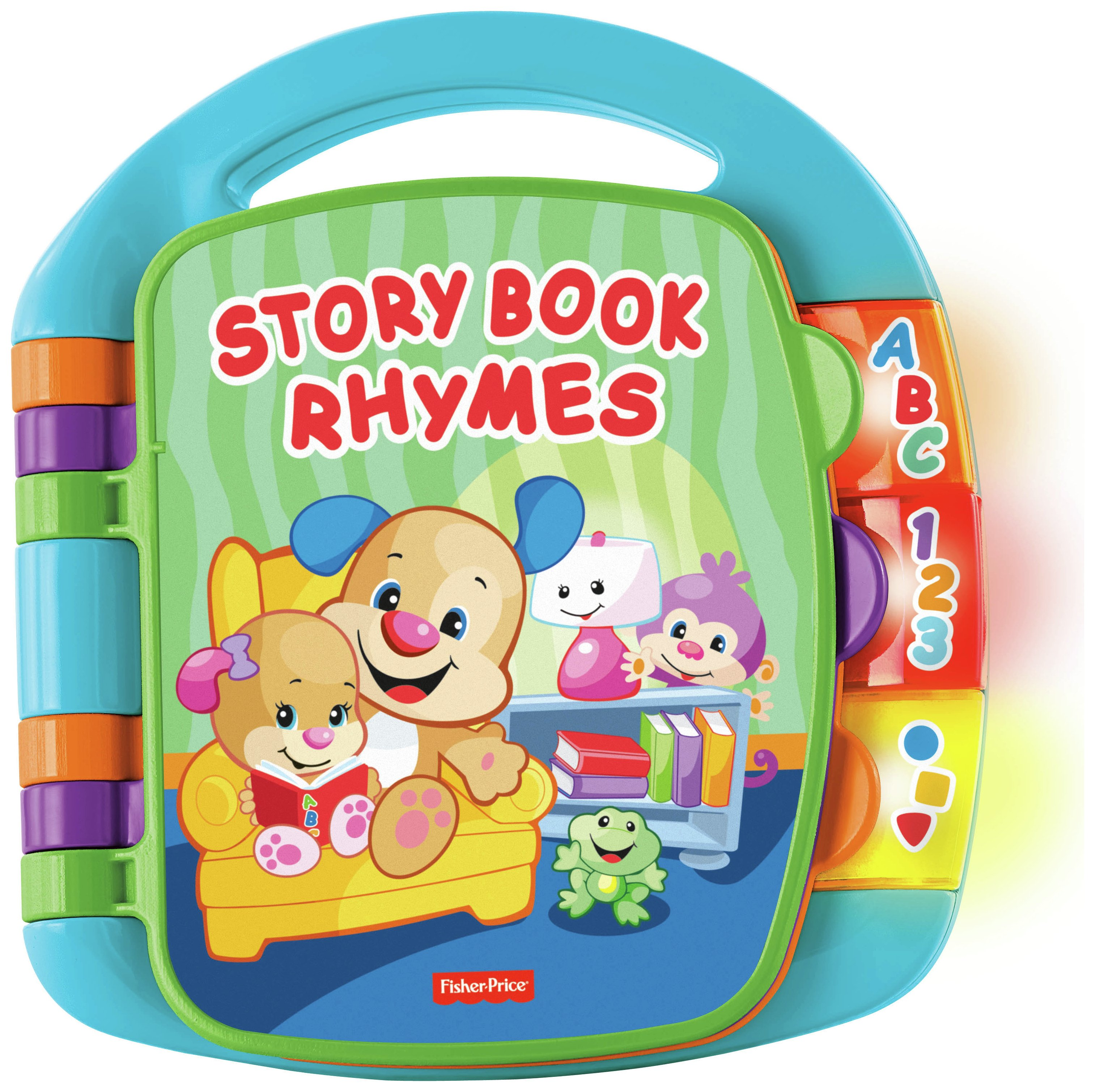 Image of Fisher-Price - Laugh and Learn Storybook Rhymes Book