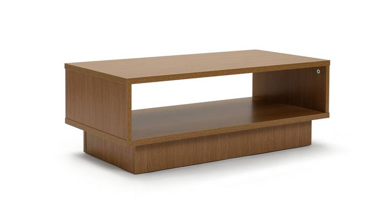 Habitat Cubes 1 Shelf Coffee Table - Oak Effect