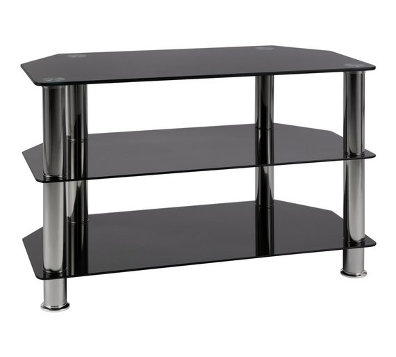 Buy Home Matrix Tv Unit Black Glass At Your Online Shop For Entertainment Units