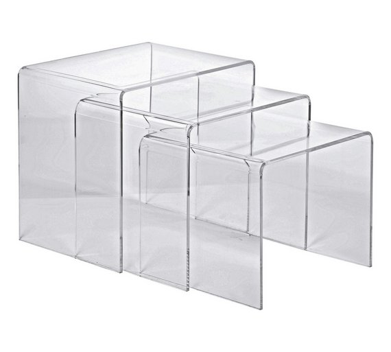 Buy Argos Home Mistral Nest Of 3 Tables