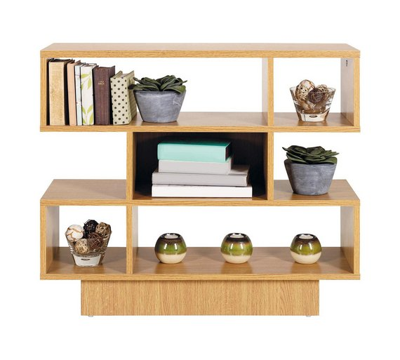 Buy home cubes shelving unit oak effect at your online shop for bookcases and for Oak shelving units living room