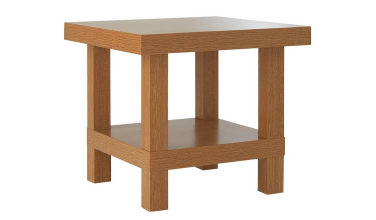 Buy Argos Home Stratford Chunky End Table Oak Effect Side Tables Argos