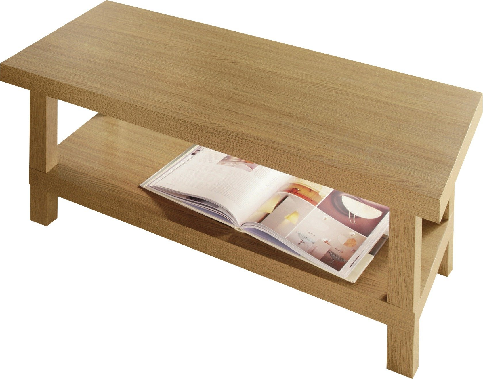 Argos Home Stratford Chunky Coffee Table - Oak Effect