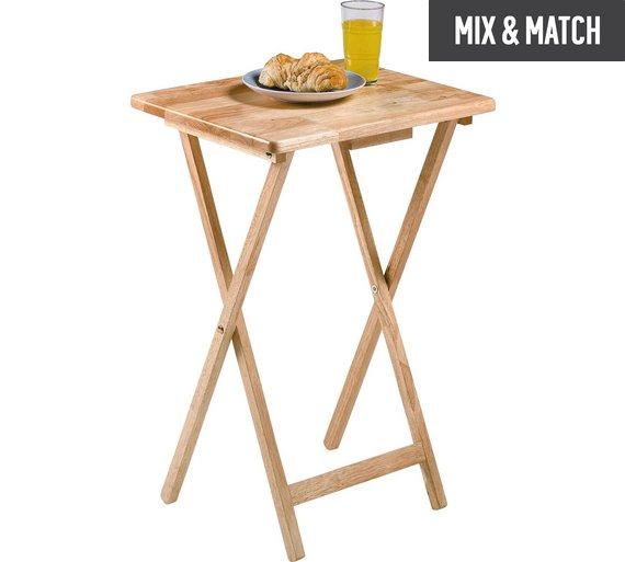 buy home single folding tray table