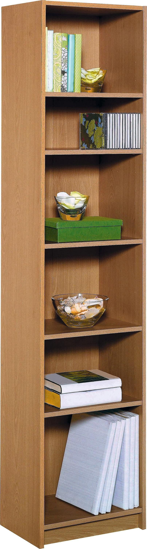 buy home maine half width bookcase oak