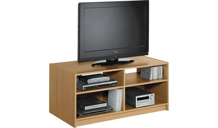 Habitat Maine TV Unit - Oak Effect