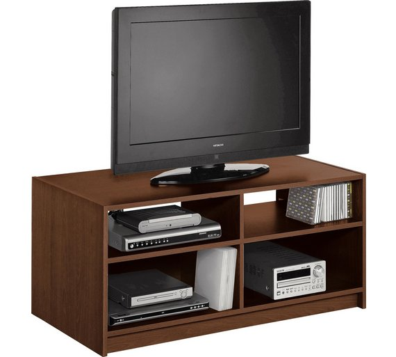 Buy home maine tv unit walnut effect at your online shop for entertainment units Walnut effect living room furniture