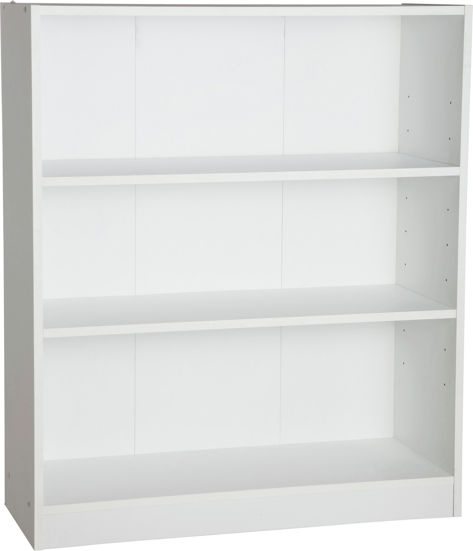 Buy Home Maine 2 Shelves Small Extra Deep Bookcase White At
