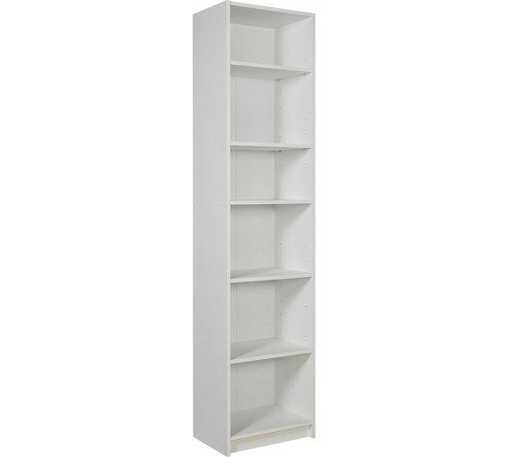 Buy Argos Home Maine 5 Shelf Half Width Bookcase
