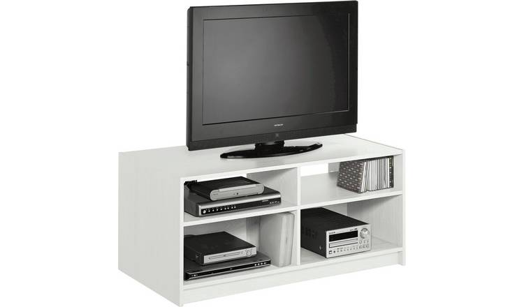 Habitat Maine TV Unit - White