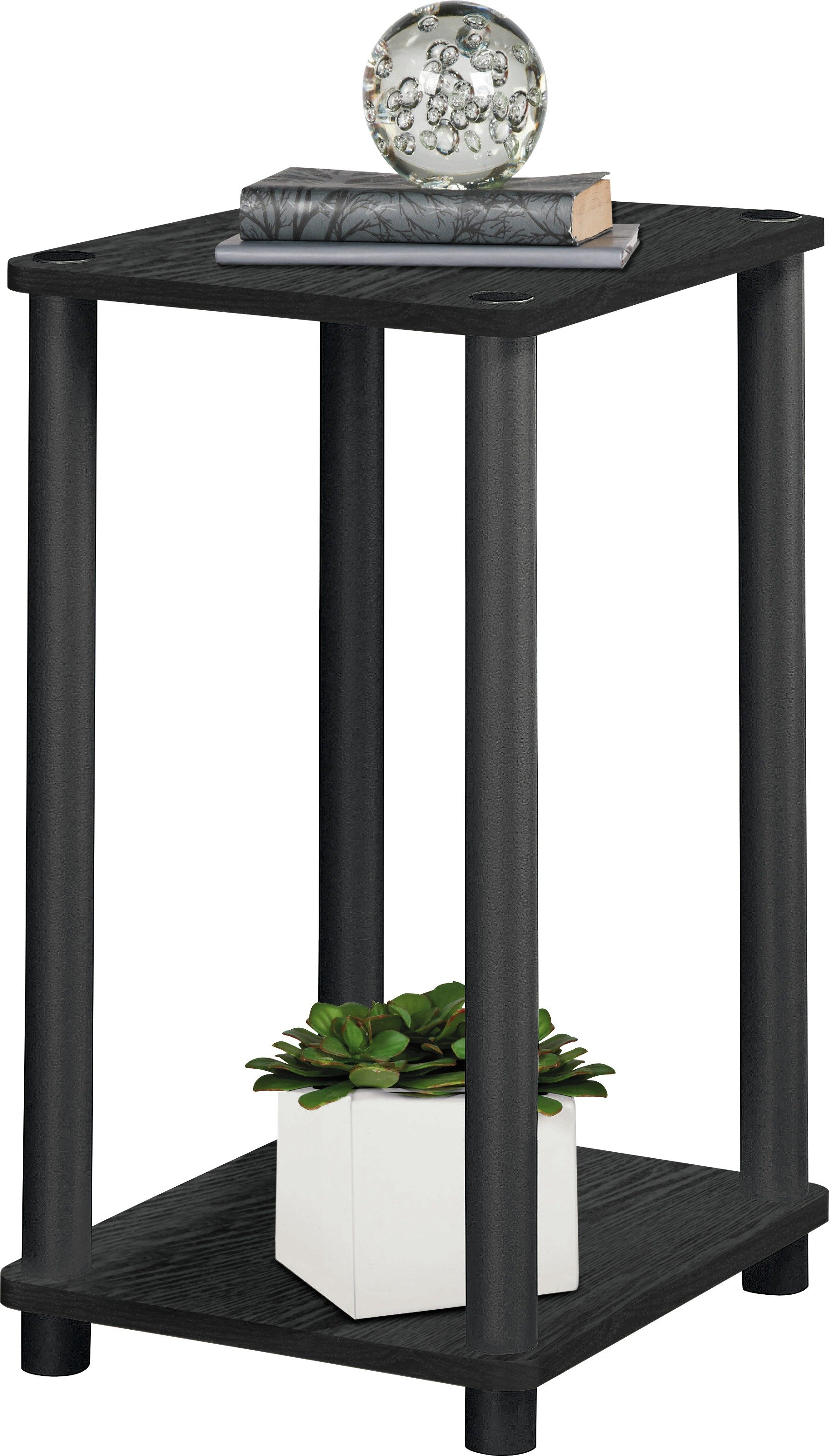HOME Verona 1 Shelf Telephone Table   Black