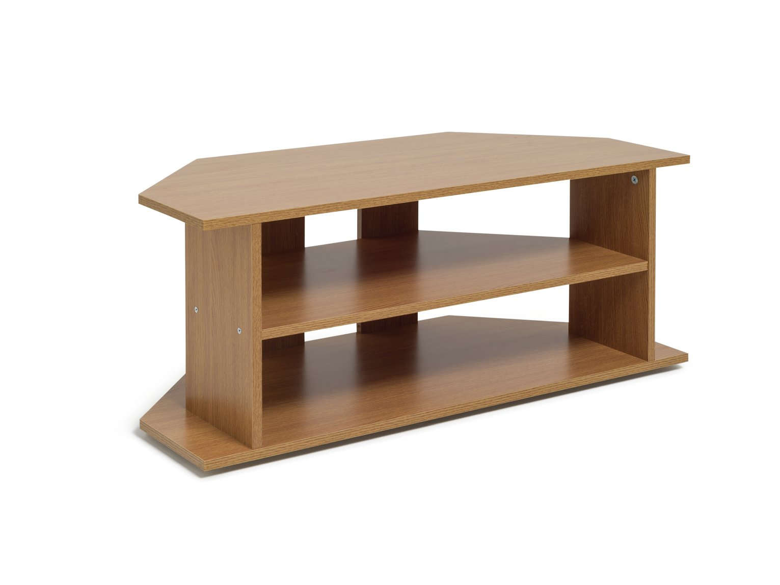 Buy Argos Home Corner Tv Unit Oak Effect Entertainment Units And