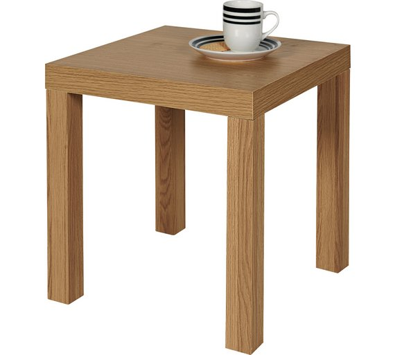 Buy home end table oak effect at argos your online shop home end table oak effect aloadofball Gallery
