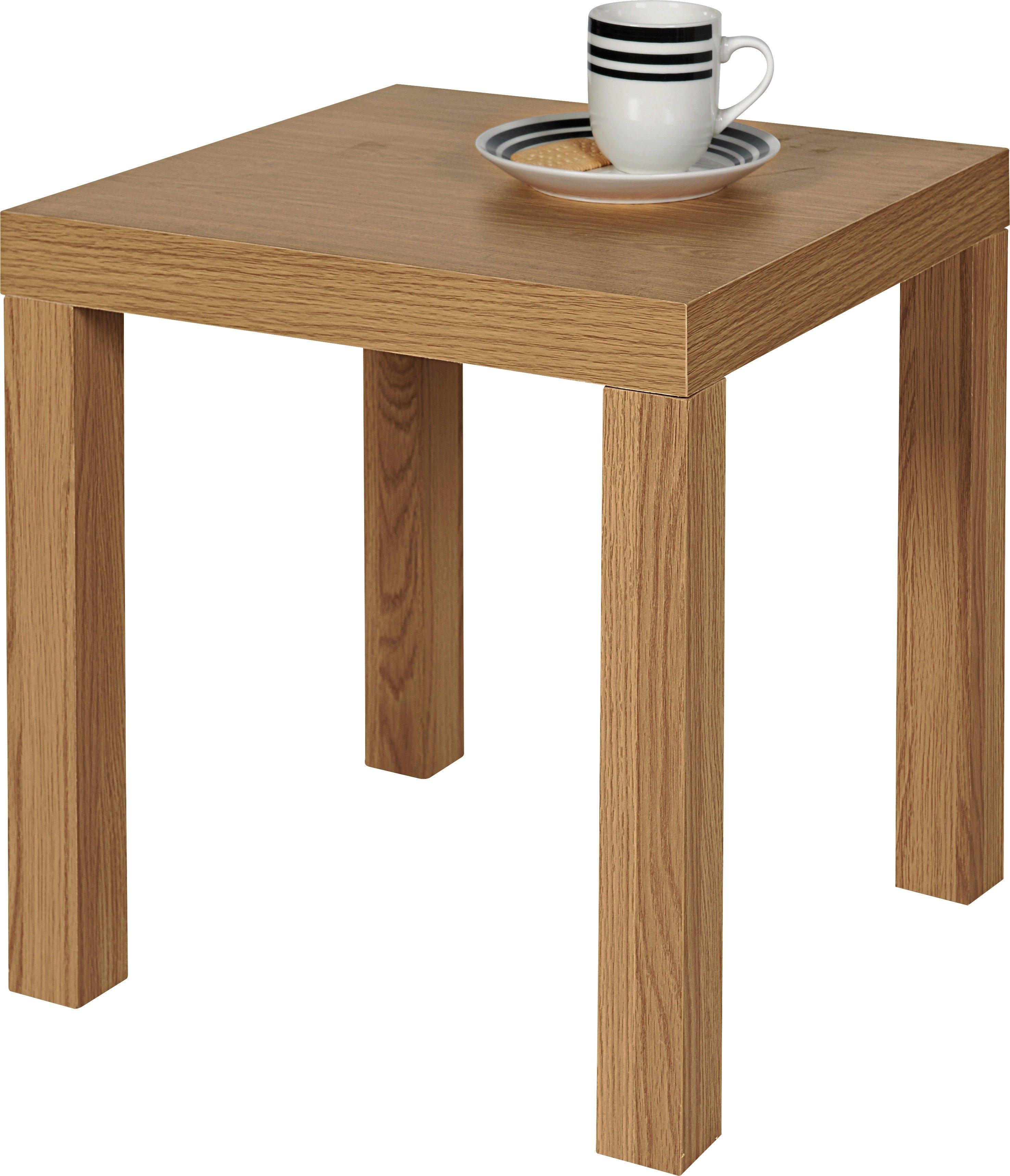 buy home end table - oak effect at argos.co.uk - your online shop