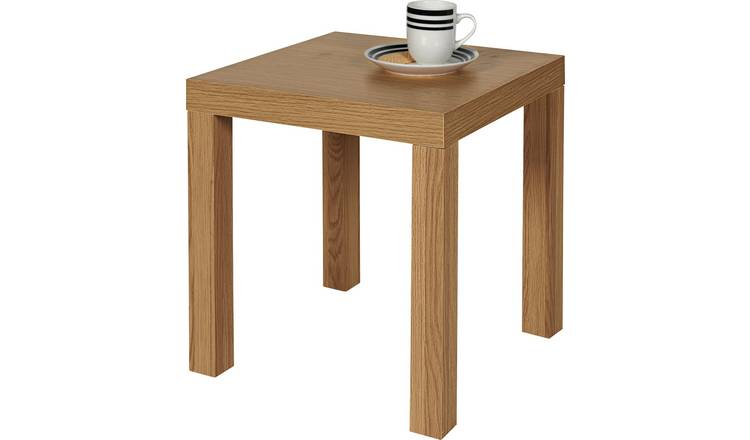 Argos Home End Table - Oak Effect