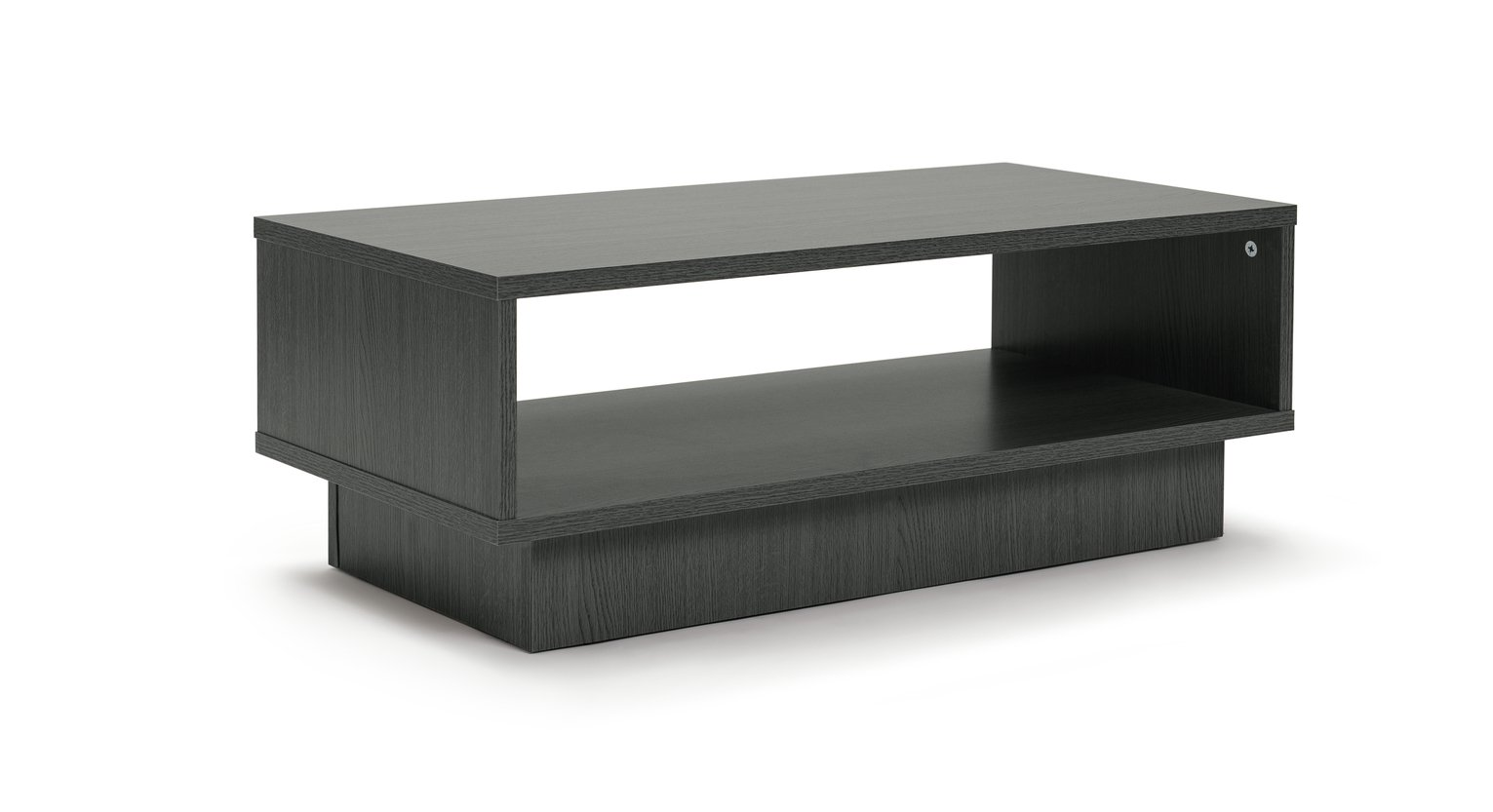 Habitat Cubes 1 Shelf Coffee Table - Black