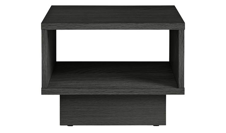 Argos Home Cubes 1 Shelf End Table - Black