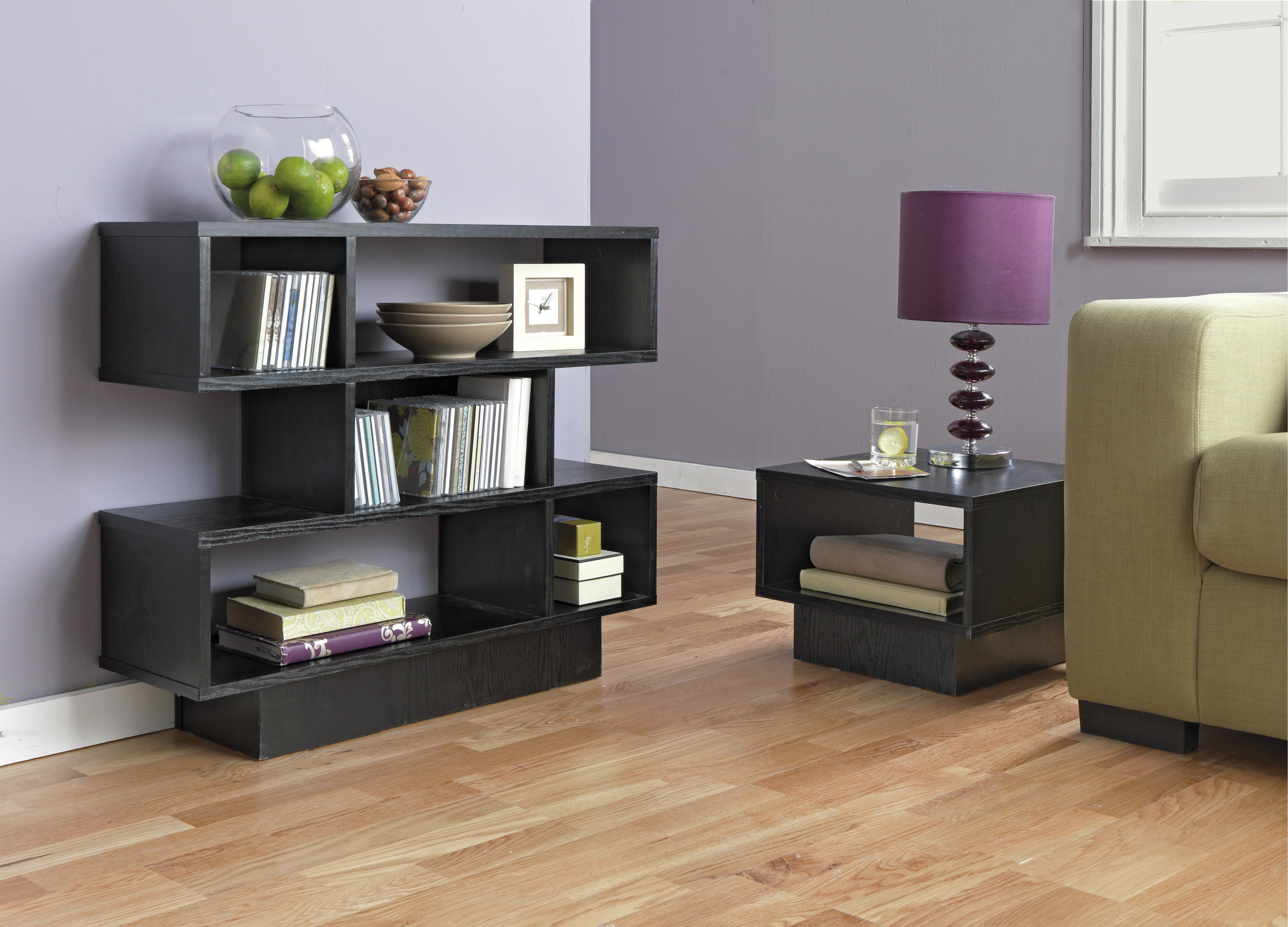 Very best Buy HOME Cubes 1 Shelf End Table - Black Ash | Coffee tables, side  TD11