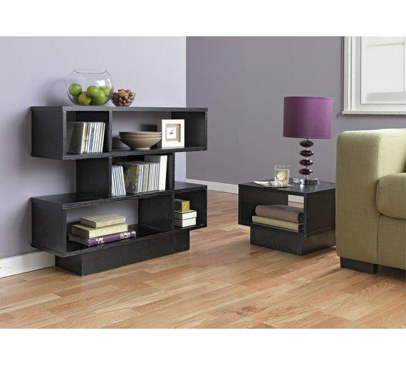 Buy Home Cubes 1 Shelf End Table Black Ash At