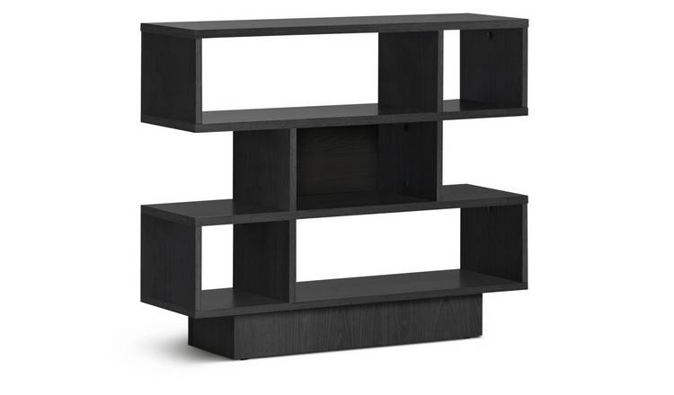 Habitat Cubes 3 Tier Shelving Unit - Black
