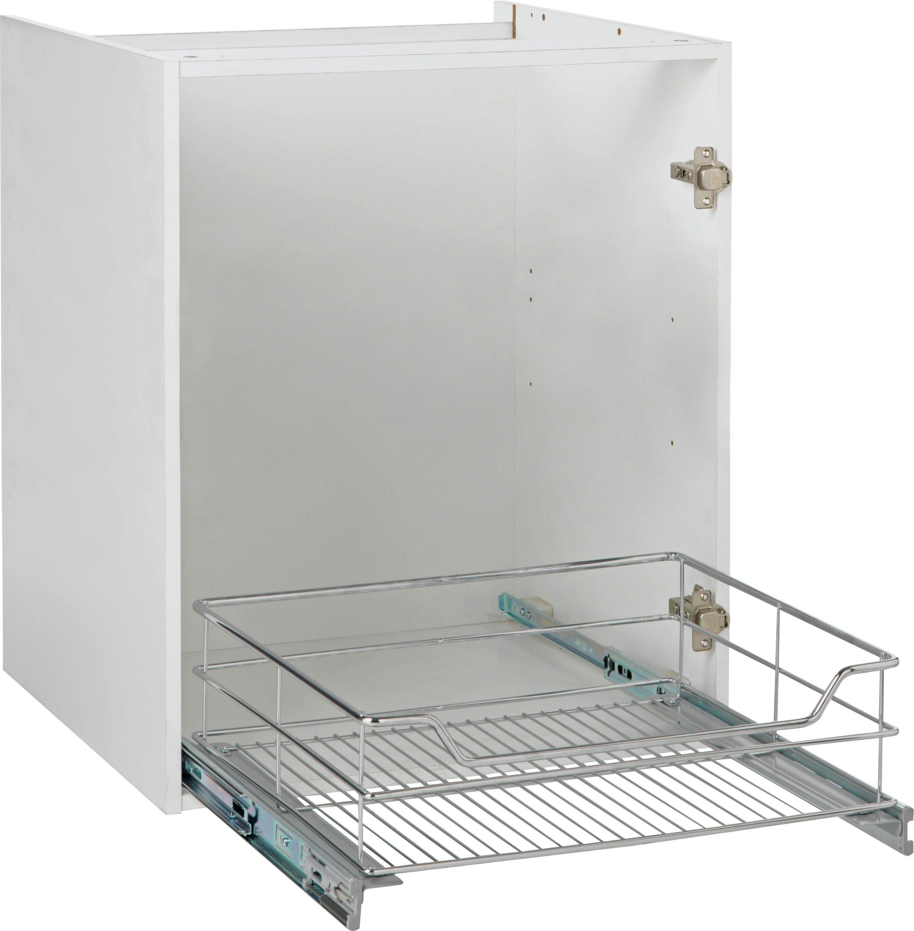 buy spencers valencia 600mm soft close kitchen storage basket