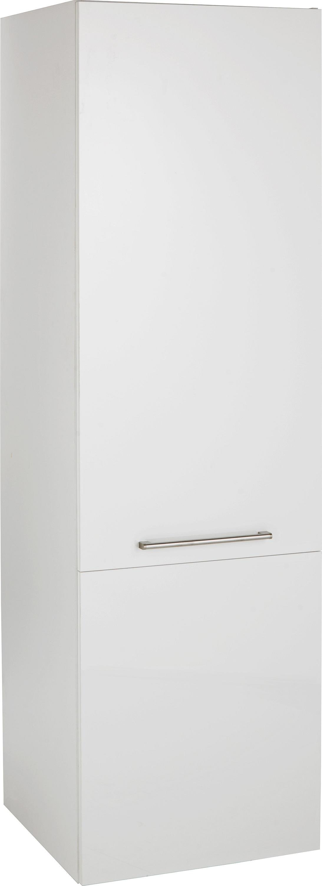 Hygena valencia 600mm tall kitchen larder unit white gloss for White gloss tall kitchen units