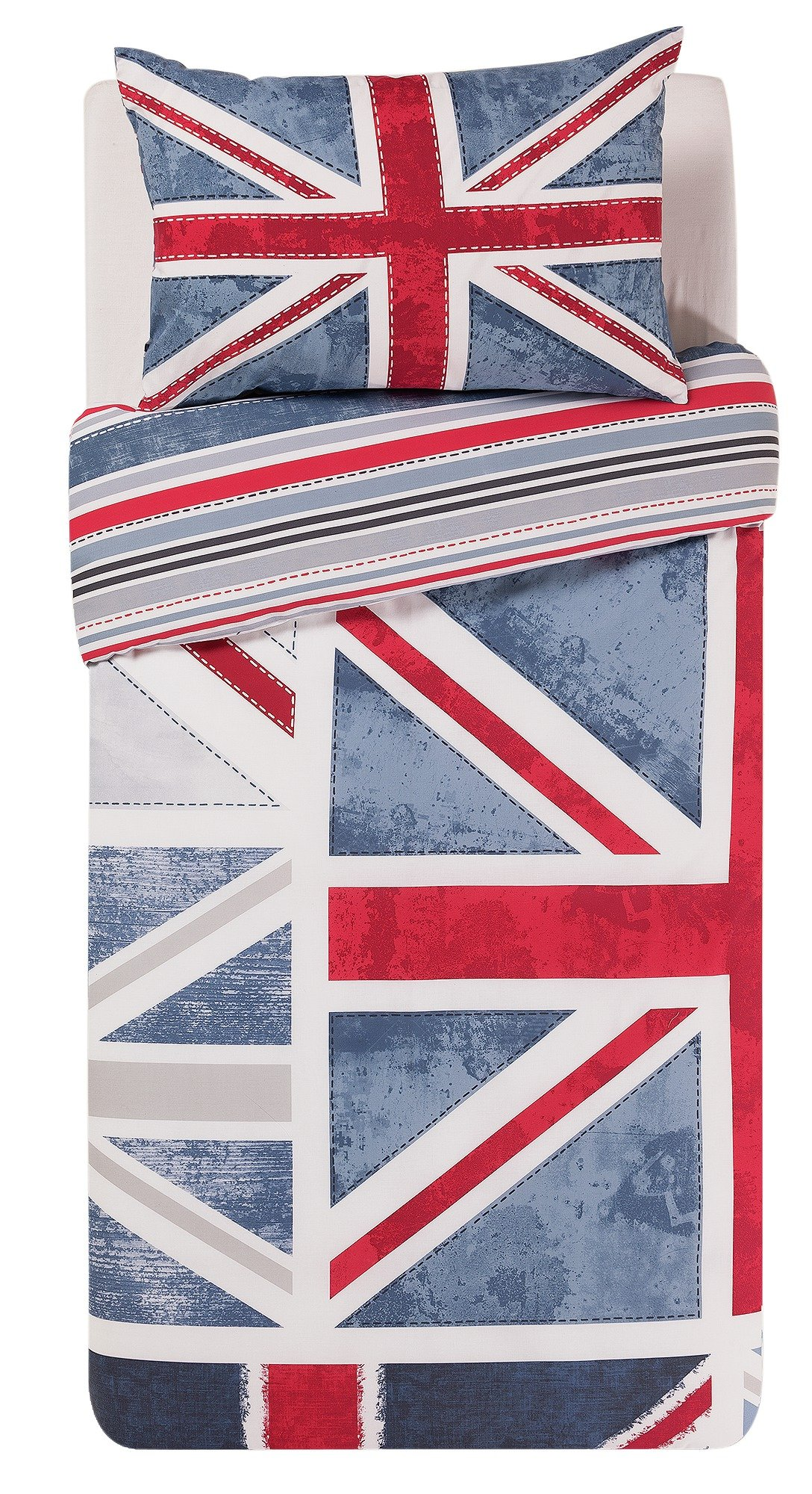HOME Union Jack Bedding Set - Single