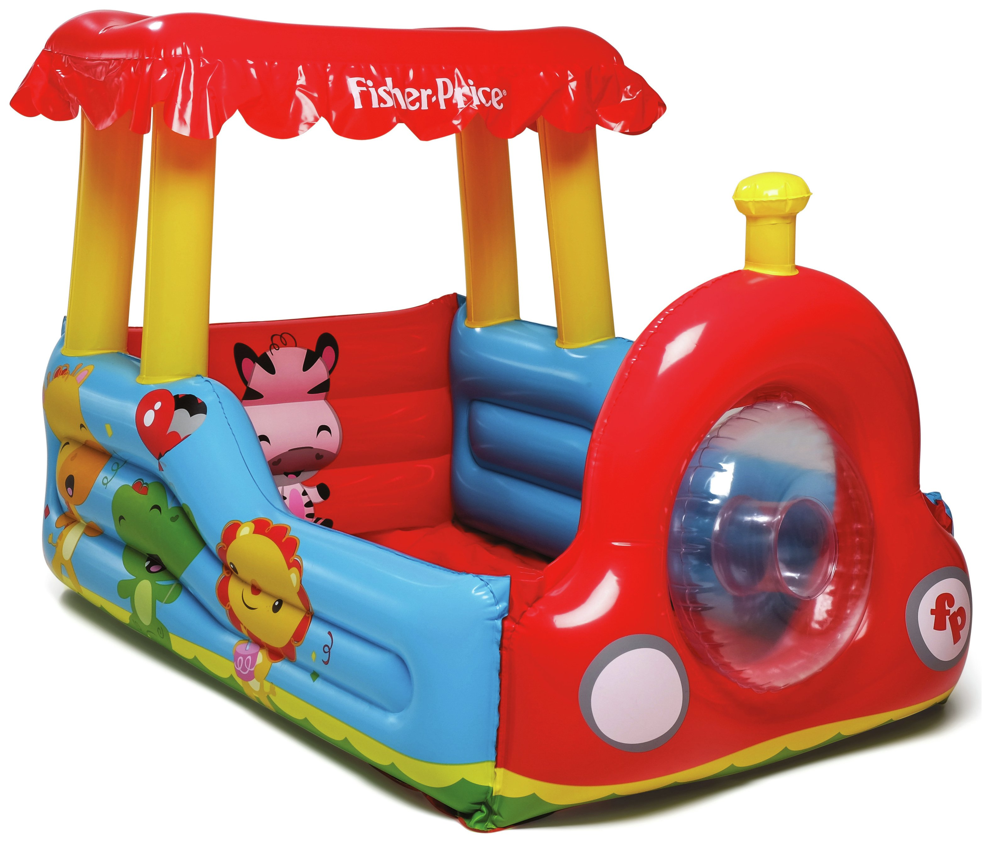 Image of Fisher-Price Train Ball Pit