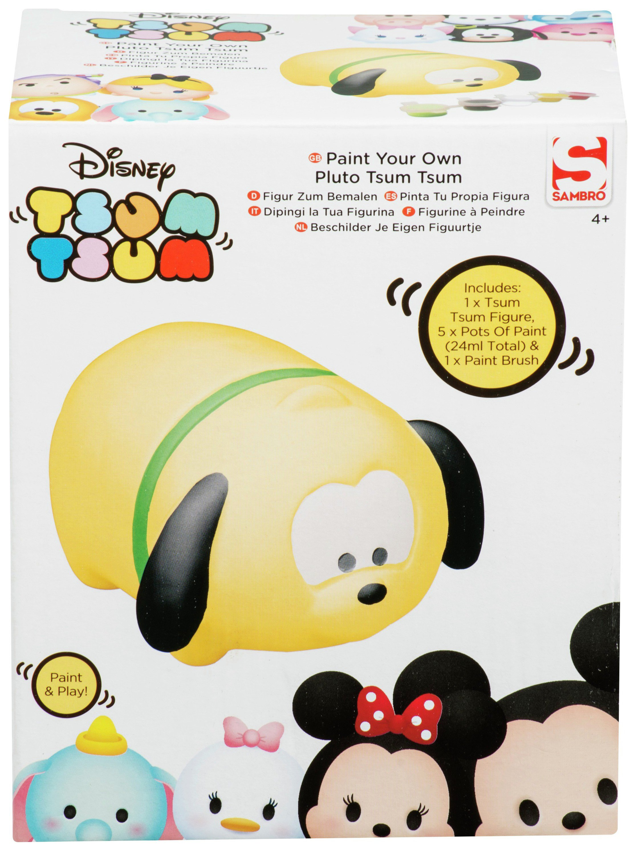 tsum tsum paint your own figure.